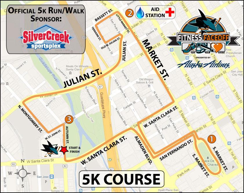 SJ Shark 5k course